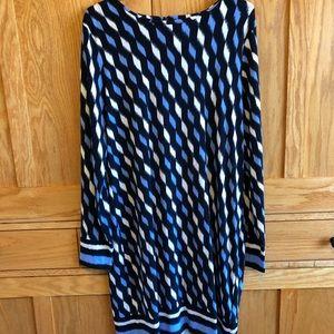 Groovy Michael Kors Geometric Shift Dress!